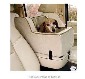Console-pet-car-seat