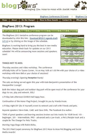 BlogPaws-agenda-2013