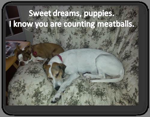 Emily Olive Meatballs