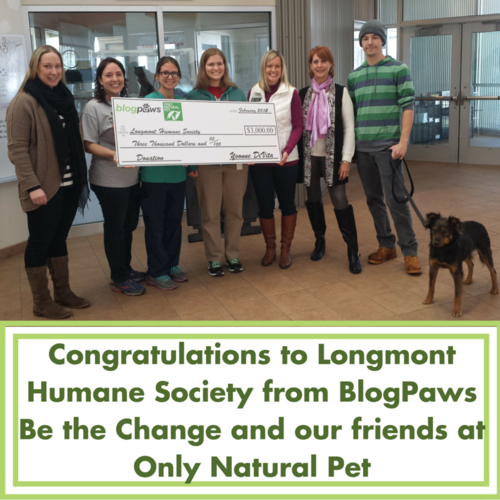 Congratulations to Longmont Humane Society