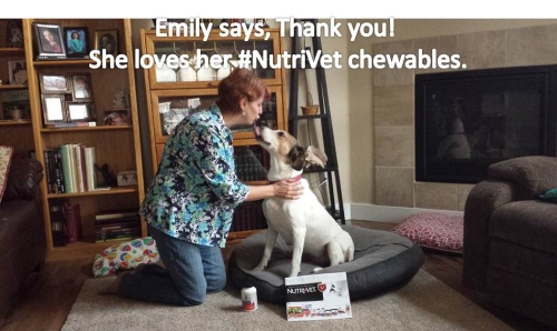 Yes Mom Emily wants her Nutrivet Chewable
