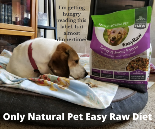 Only natural pet label Emily
