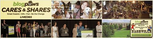 BlogPaws Share and BlogPaws Cares
