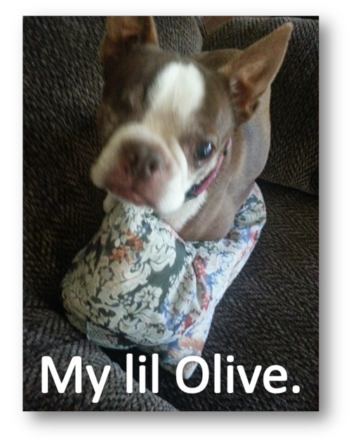 My lil olive